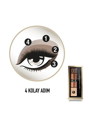 Smokey Eye Drama Kit 4'Lü Far Paleti  03 Sumptuos Gold-Max Factor